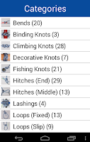 Screenshot of Knot Guide ( 100+ knots )