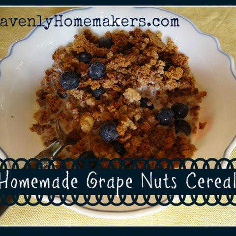Homemade Grape Nuts Cereal
