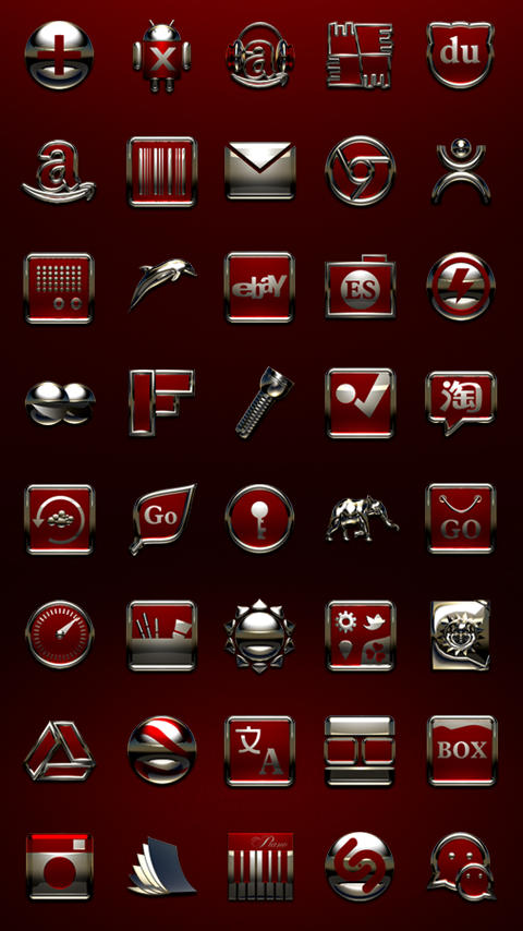 MAGNOLIA Next Launcher Theme Screenshot 3