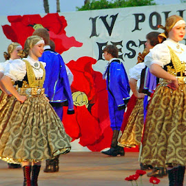 Polish Festival by Carol Boshears - People Musicians & Entertainers