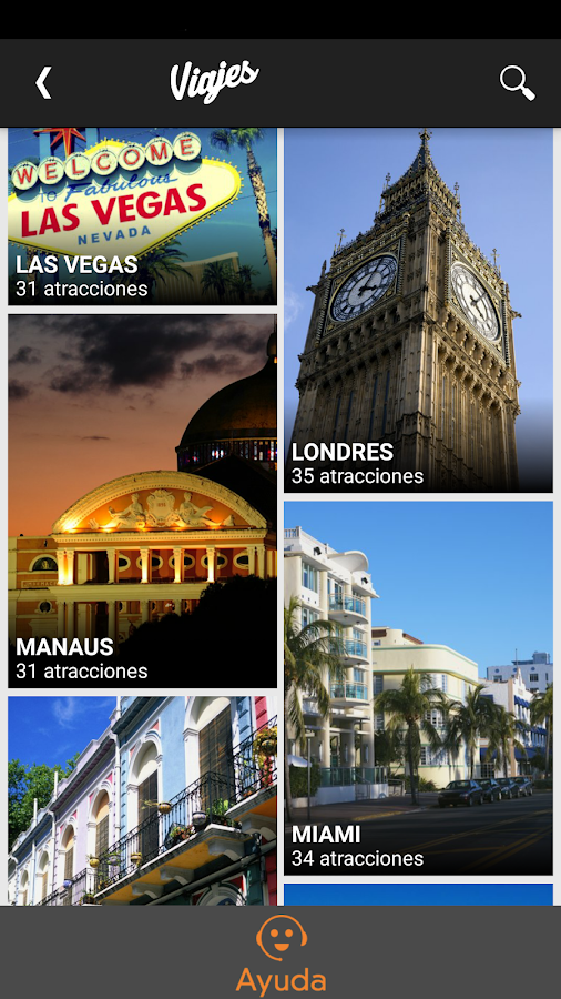 Viajes Screenshot 1
