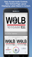 Screenshot of 1010 WOLB - Baltimore
