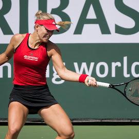 Angelique Kerber by Jeffrey Hechter - Sports & Fitness Tennis