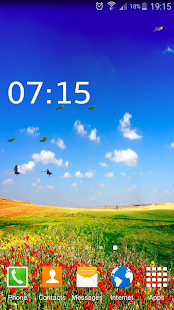 3D Birds LiveWallpaper - screenshot