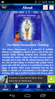 Screenshot of Om Namo Narayanaye Chant Lite