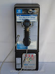 Single Slot Payphones - Bell South 1P2 Press Blue loc LP7