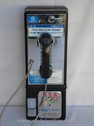 Single Slot Payphones - Bell South 1P2 Press Blue loc LP7 1
