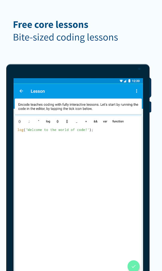 Encode: Learn to Code Screenshot 11