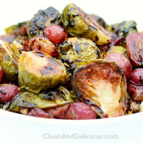 Brussels Sprouts + Grapes (video)