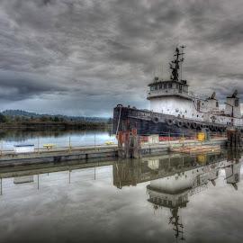 The Mighty Titan by Jason James - Transportation Boats