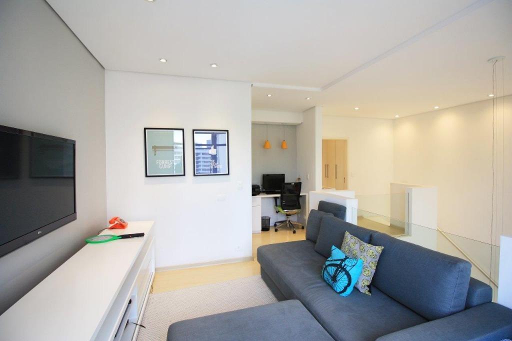 Apartamento Duplex residencial à venda, Pinheiros, São Paulo.