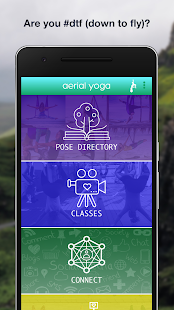 aerial yoga Fitness app screenshot for Android
