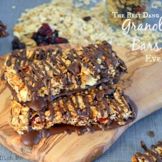 The Best Dang Granola Bars Ever {EVER.}
