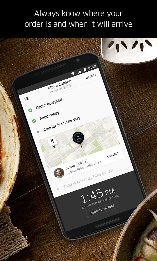 UberEATS: Faster Delivery Screenshot 2