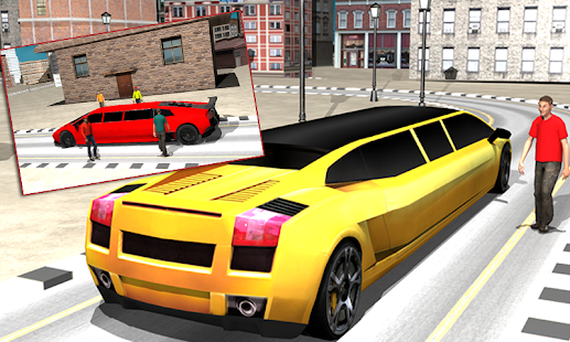 Limousine City Drive Simulator - screenshot