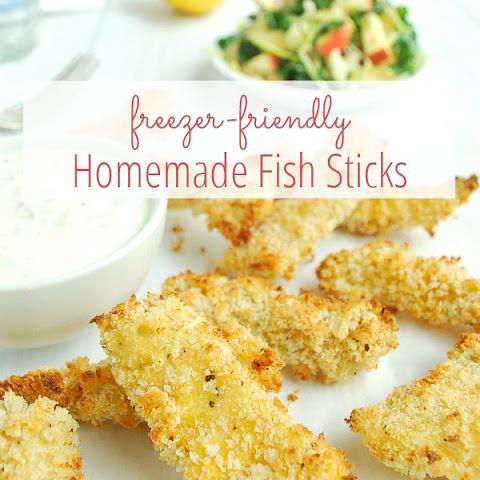 Homemade Fish Sticks (Freezer Friendly)