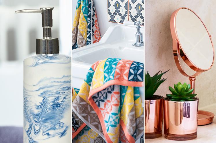 Explore our chic range of bathroom accessories at George.com