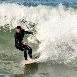 HB Surfer by Jose Matutina - Sports & Fitness Surfing ( orange county, surfer, california, huntington beach,  )