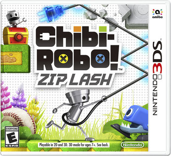 Chibi-Robo! Zip Lash - box art