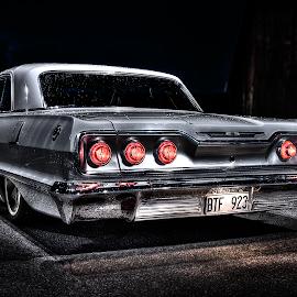 Chevrolet Impala by Albin Berlin - Transportation Automobiles ( car, classic car, hdr, vintage, airride, chevrolet, digital art, chevy, classics )