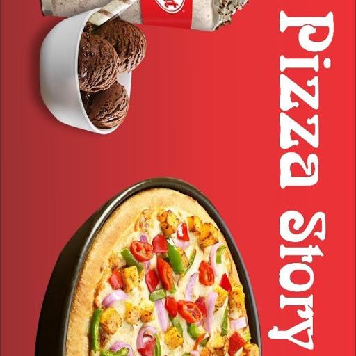 Pizza Story, Vasundhara, Vasundhara logo