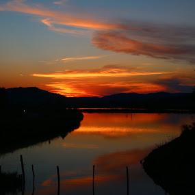 Day end by Flaviu Negru - Landscapes Sunsets & Sunrises (  )