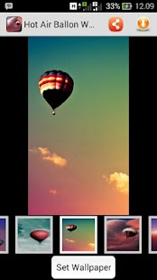 Hot Air Balloon Wallpaper - screenshot