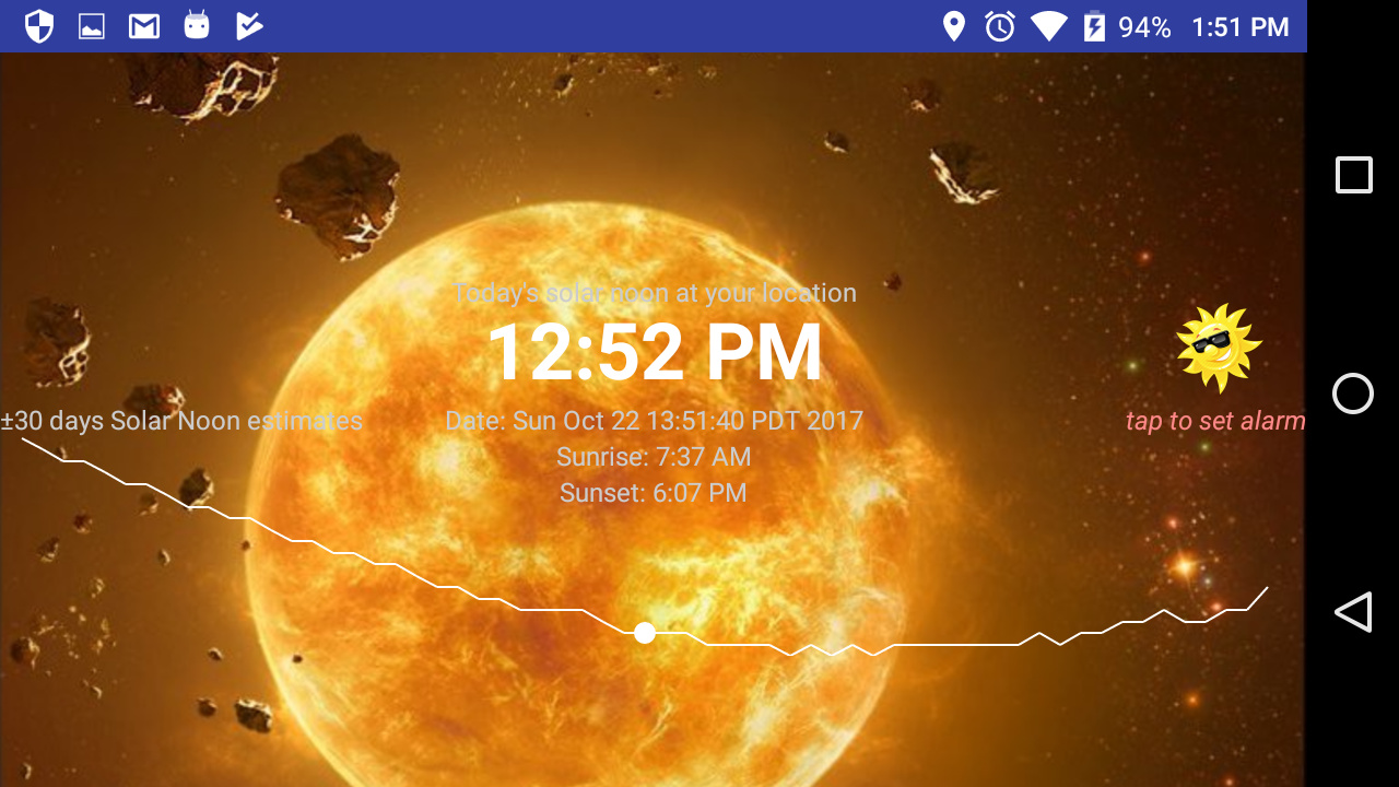 Solar Noon Screenshot 1