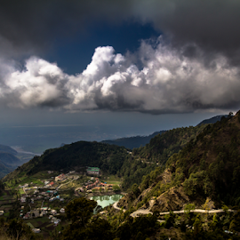 Khurpa Tal by Debajit Bose - Landscapes Travel ( love, blue sky, nature, hils, cloud, meadows, cloud formation, debajit bose, landscape, mountais, khupatal )