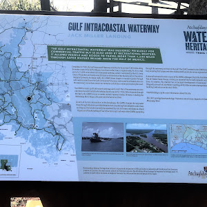 The Gulf Intracoastal Waterway was designed primarily for commercial traffic but is also used by recreational boaters. It allows vessels and goods to travel more than 1,300 miles through safer waters ...