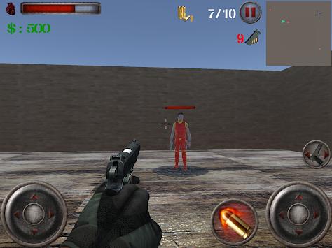 Enemy Territory: Escape Mission - Shooting Game v2 apk screenshot