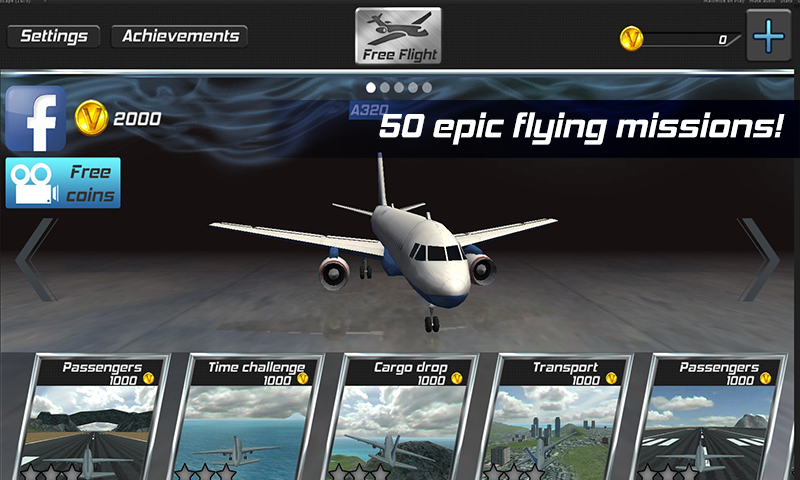 Real Pilot Flight Simulator 3D Screenshot 3