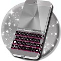 Pink Chrome Keyboard Theme APK for Lenovo