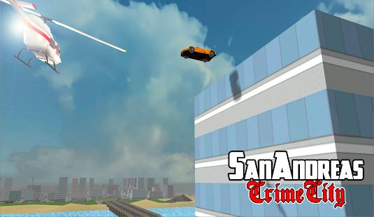San Andreas Crime City APK for Bluestacks