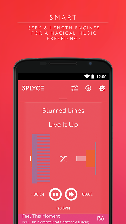 Splyce music player & automix Screenshot 3