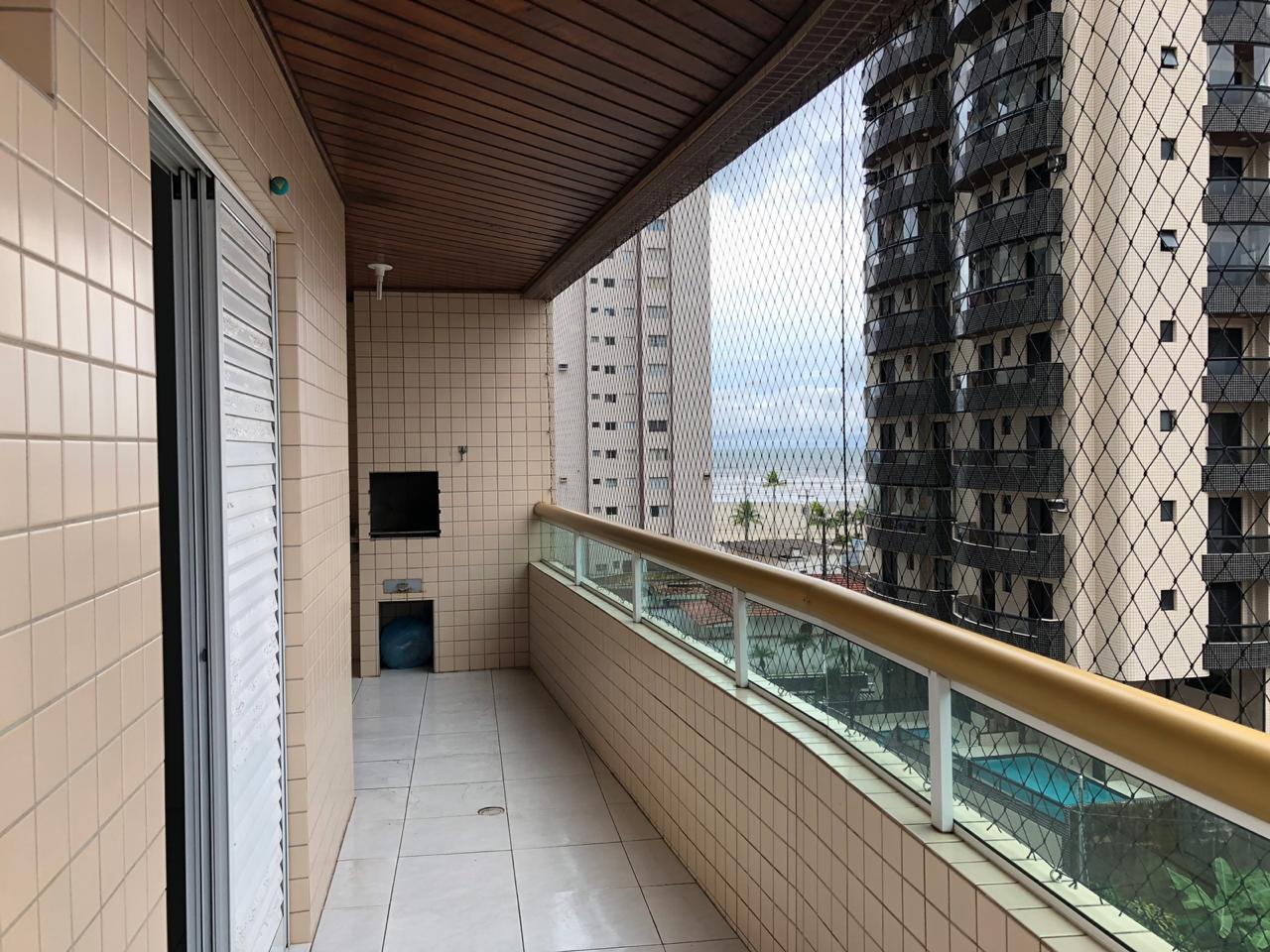 Apartamento com 2 dormitórios para alugar, 80 m² por R$ 1.700/mês - Vila Guilhermina - Praia Grande/SP