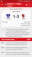 Screenshot of Milan News