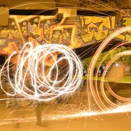 Lightpainting by Andrius La Rotta Esquivel - Abstract Light Painting ( amazing, light painting, awesome, interesting, street photography )