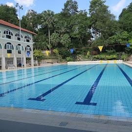 Changi Beach Club Pool by Dennis  Ng - Sports & Fitness Swimming (  )