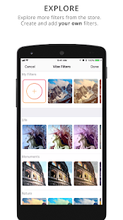 Photo Effects, Filters, Hashtags & Likes Predictor Screenshot
