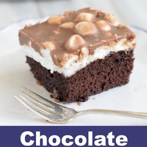 Chocolate Chip Marshmallow Cake | Chocolate Chip Cookies, Chocolate ...