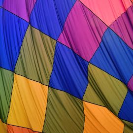Balloon Ripples by Shawn Thomas - Abstract Patterns