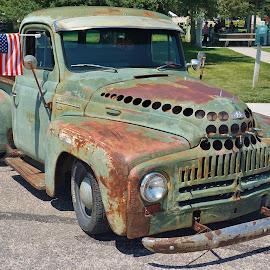 Road Survivor by Jim Czech - Transportation Automobiles ( trucks, truck, car show, rusty, pickup truck )