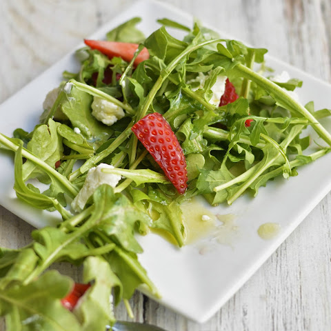 Arugula Strawberry Salad