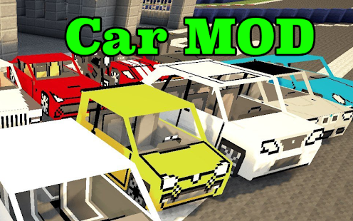 1 Car Mod for Minecraft PE App screenshot