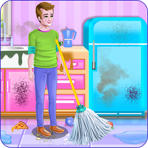 Daddy Messy House Cleaning Released on Android - PC / Windows & MAC