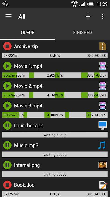 Advanced Download Manager screenshots