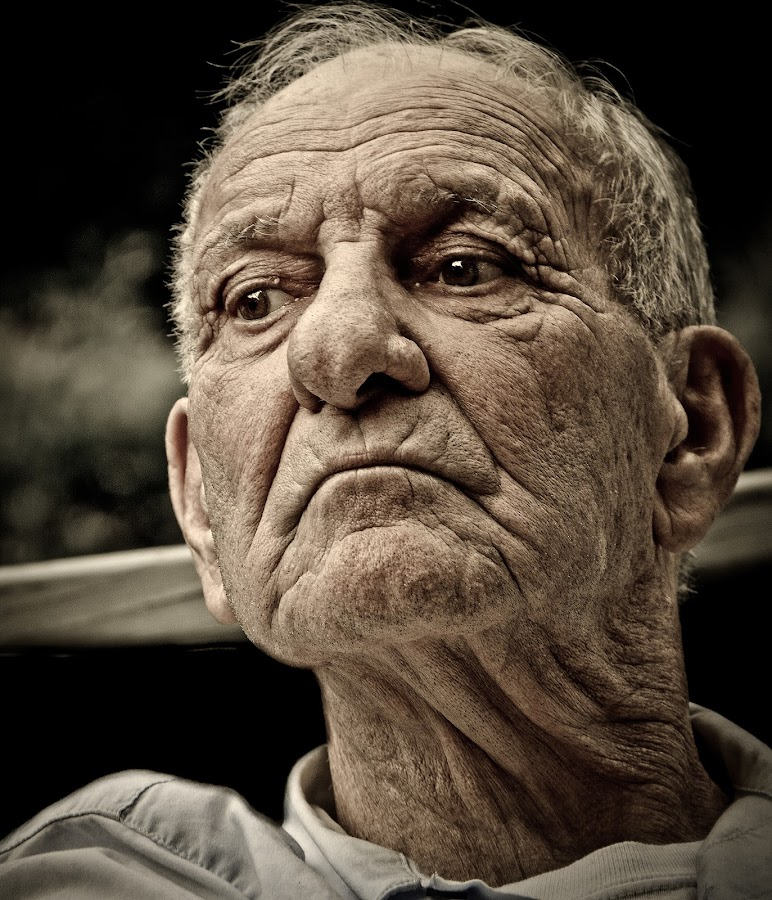 Percipient by Meaghan Browning - People Portraits of Men ( senior citizen )