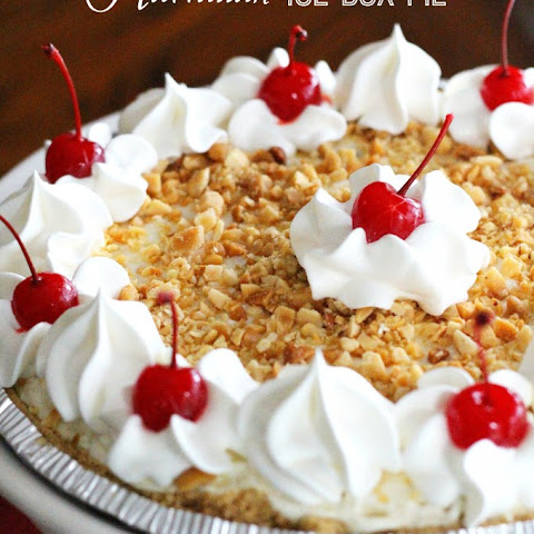 Hawaiian Island Ice Box Pie