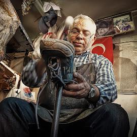Shoemaker by İsmail Bülbül - People Professional People